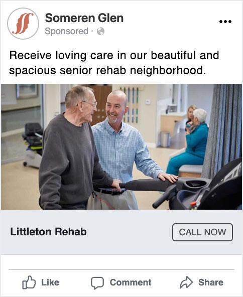 Someren Glen rehab Facebook ad