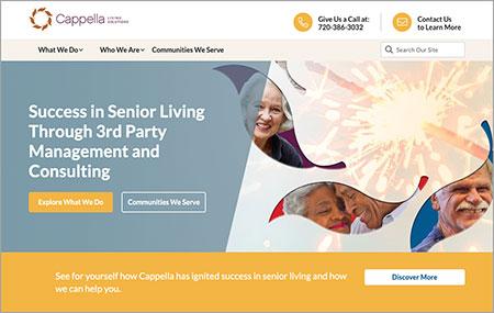 Cappella Living Solutions website